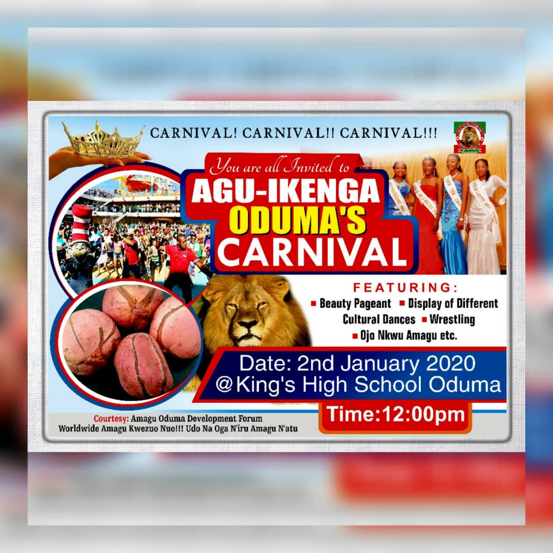 Ikenga Carnival 2020: the reason for the hustle